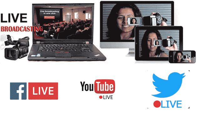 Facebook Event Live Video Service Mumbai, Youtube Live